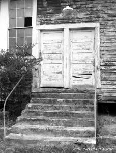 5-28-2016 Eargle School-Blount County Alabama-closed in 1964-Crown Graphic 4x5 camera-135mm Schneider Xenar lens-Adox CHS 50 4x5 film-PMK Pyro developer.