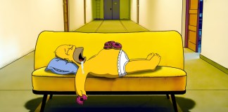 snooze simpsons