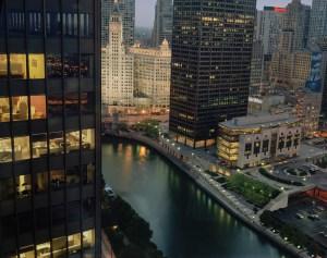Chicago Cityscape, by John Dowell Artist Photographer