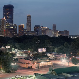 Atlanta Cityscape, by John Dowell Artist Photographer