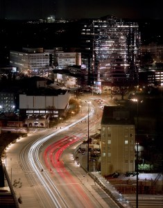 Take the Ride, Atlanta Cityscape, by John Dowell Artist Photographer