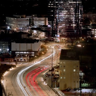 Take the Ride, Atlanta Cityscape, by John Dowell Artist Photographer