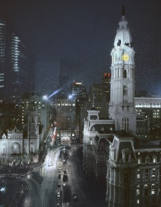 Billy Penn, City Hall, Philadelphia Cityscapes, by John Dowell artist photographer