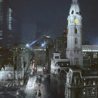 Billy Penn, City Hall, Philadelphia Cityscapes, by John Dowell artist photographer