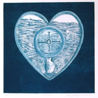 Confirmation, Etching, by John Dowell Artist Photographer