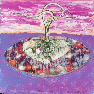 Dream Cleansing, Mixed-Media Lithograph/Giclée Print, by John Dowell Artist Photographer