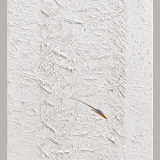 Solar Shaft, White Paintings, by John Dowell Artist Photographer