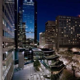 The Denver Center, Denver Cityscapes, by John Dowell artist photographer