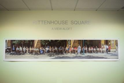 """Rittenhouse - A View Aloft"" Opening Reception at Griesing Law, Philadelphia, John Dowell"