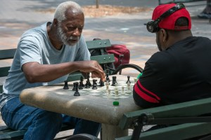 Hodge, Harlem Chess, by John Dowell artist photographer