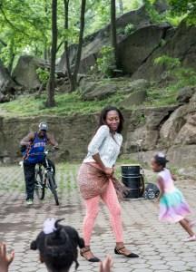 The Dancer, Harlem Drum Circle, by John Dowell artist photographer