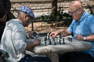 The Pawn, Harlem Chess, by John Dowell artist photographer