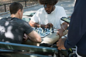 Birdman, Harlem Chess, by John Dowell artist photographer