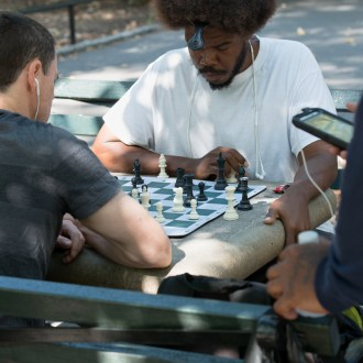 Birdman, Harlem Chess, by John Dowell artist photographer