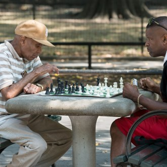 Focused, Harlem Chess, by John Dowell artist photographer