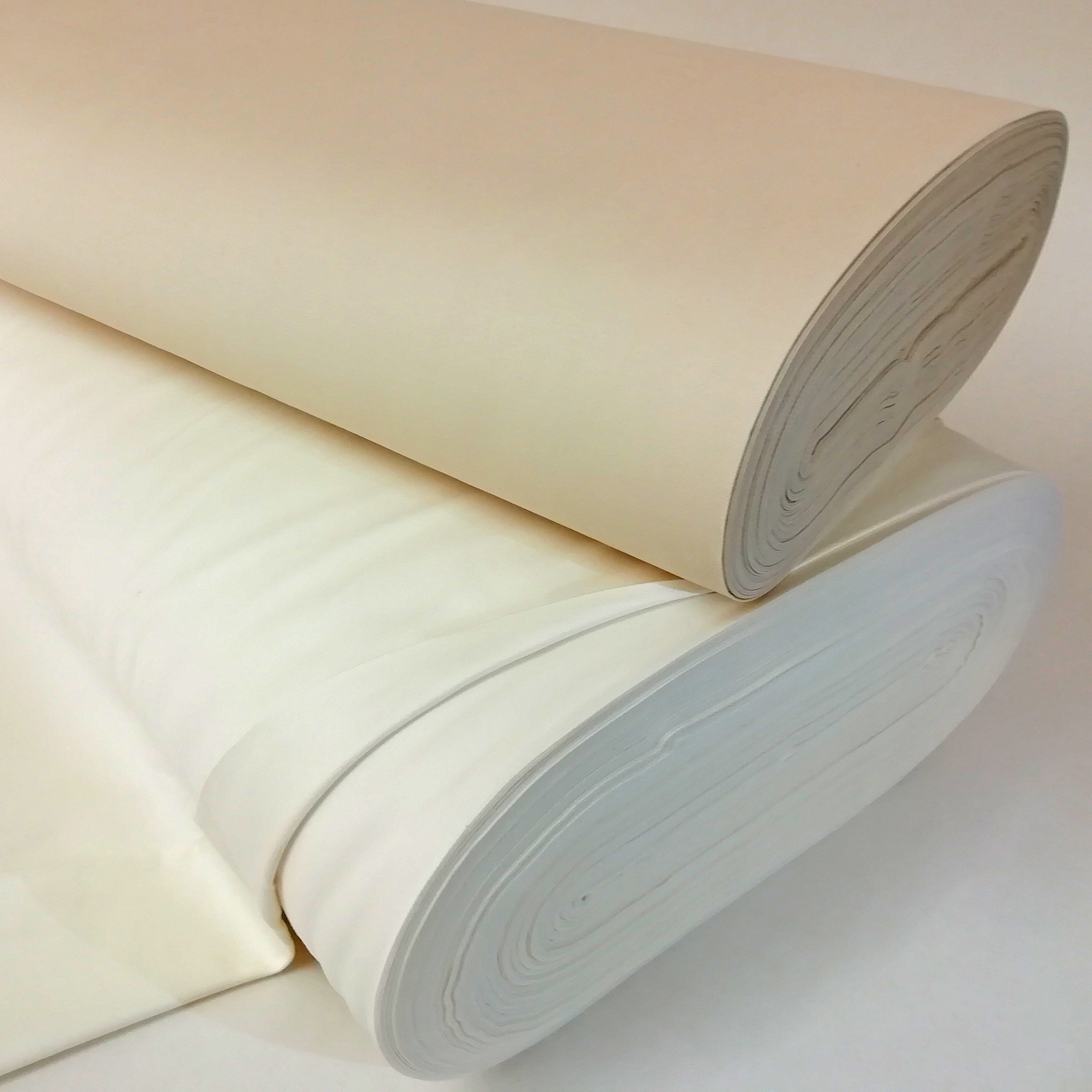 Per Metre Cream Cotton Fabric Black Out Curtain Lining