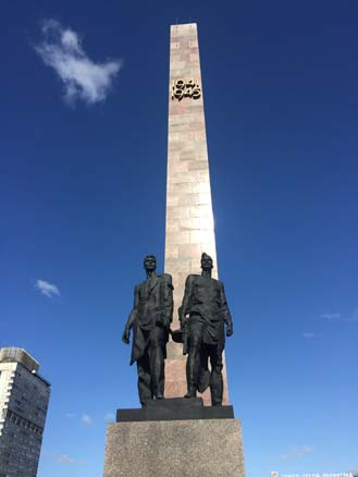 Memorial to the Heroic Defenders of Leningrad