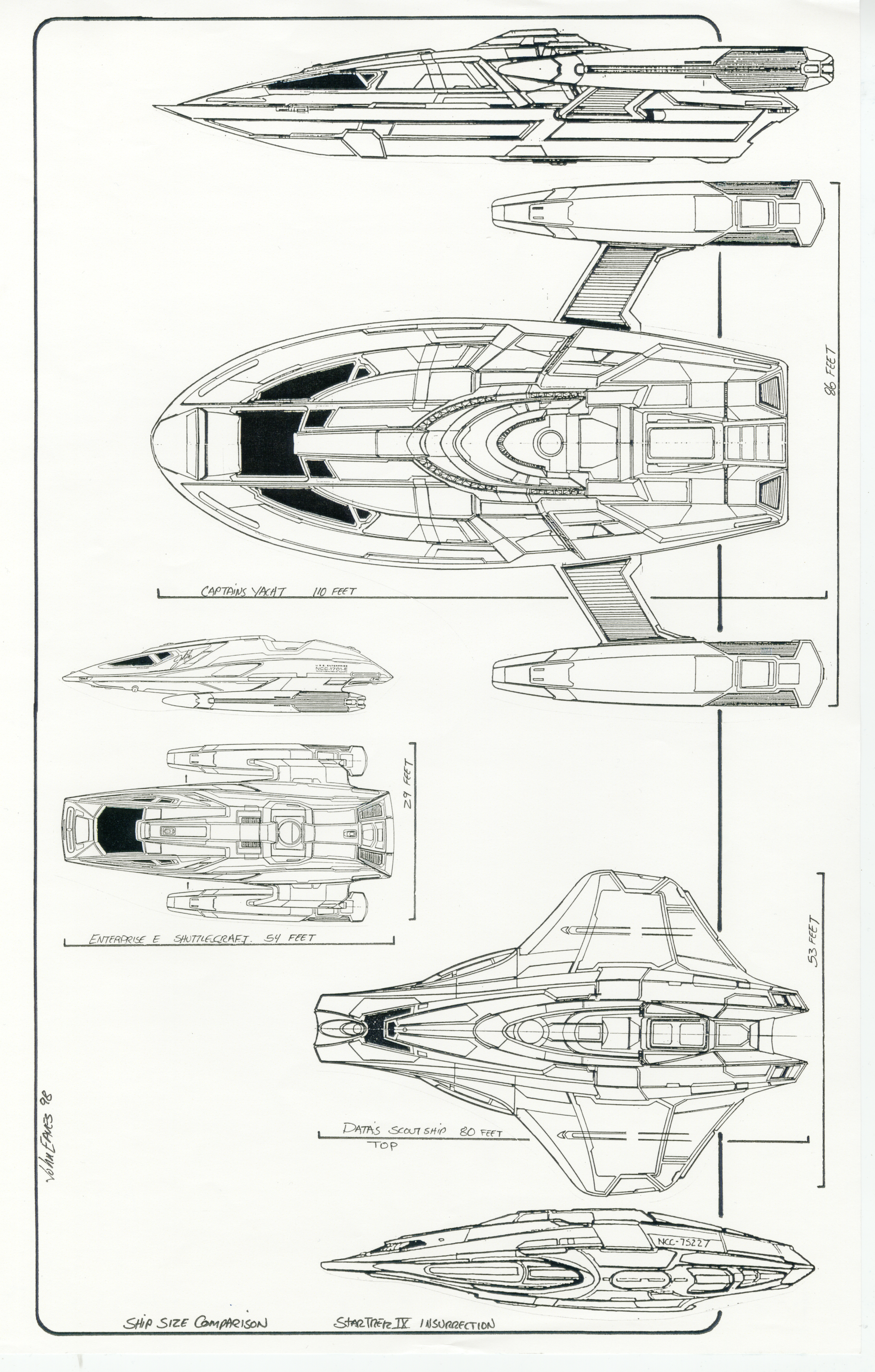 Post 2 For 5 10 10 Ship Scales From Star Trek