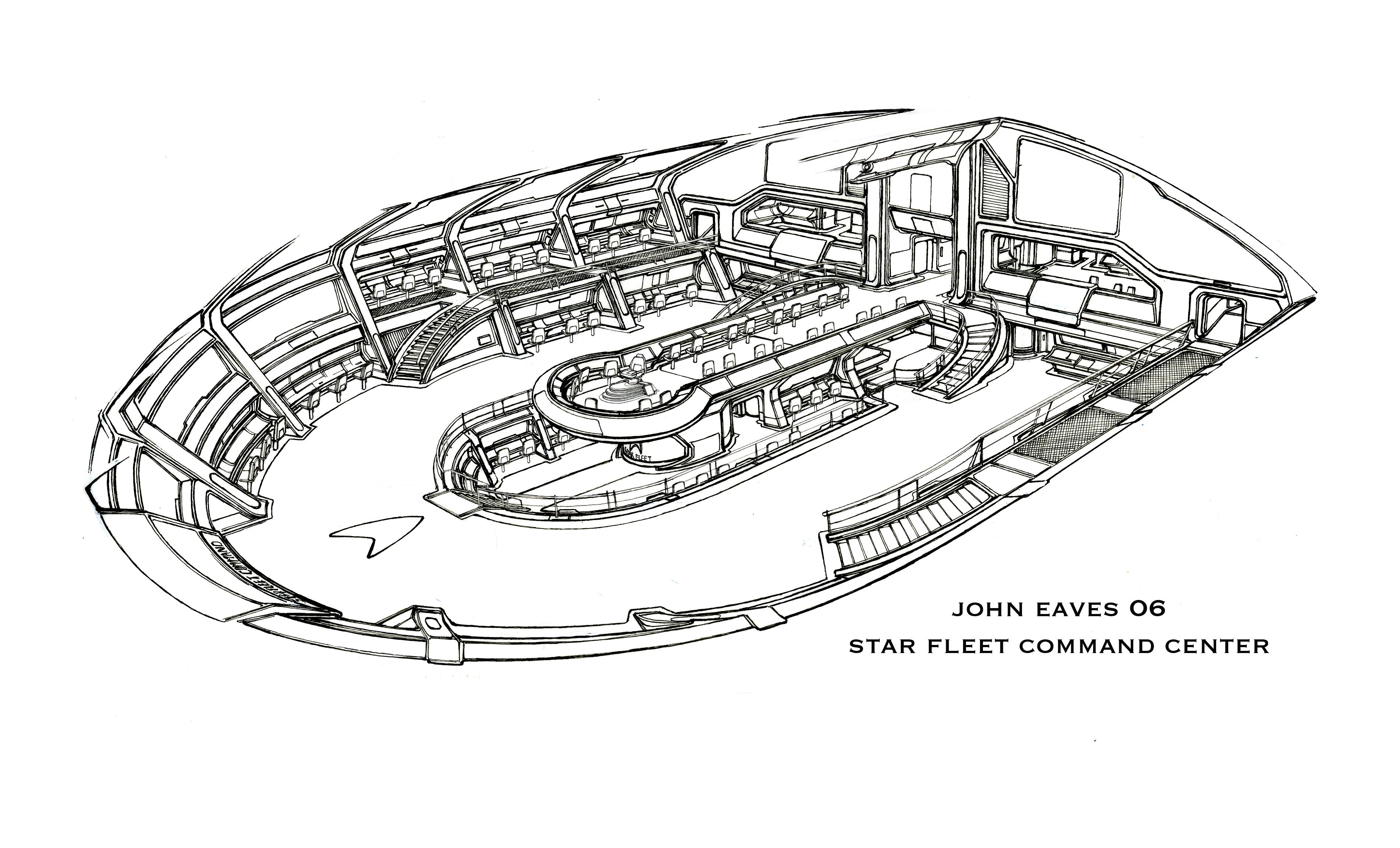 Star Fleet Command Center