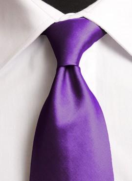 Cadbury's Purple Standard Tie (+ Handkerchief)