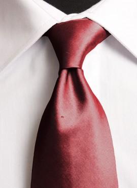 Claret Standard Tie (+ Handkerchief)