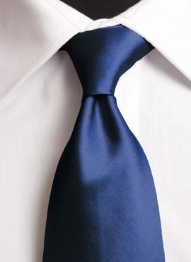 Cobalt Standard Tie (+ Handkerchief)