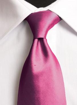 Fuchsia Standard Tie (+ Handkerchief)