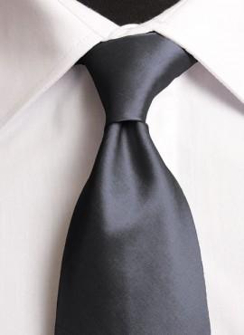 Grey Standard Tie (+ Handkerchief)