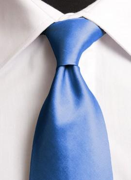 Royal Blue Standard Tie (+ Handkerchief)