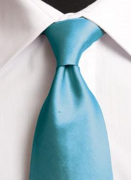 Turquoise Standard Tie (+ Handkerchief)
