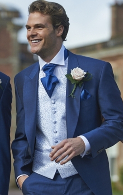Royal Blue Mohair Tailcoat (Full Package)