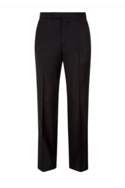 Black Mohair Trousers
