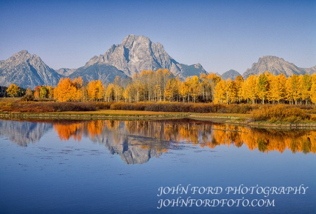 OXBOW JUNCTION & MT. MORAN