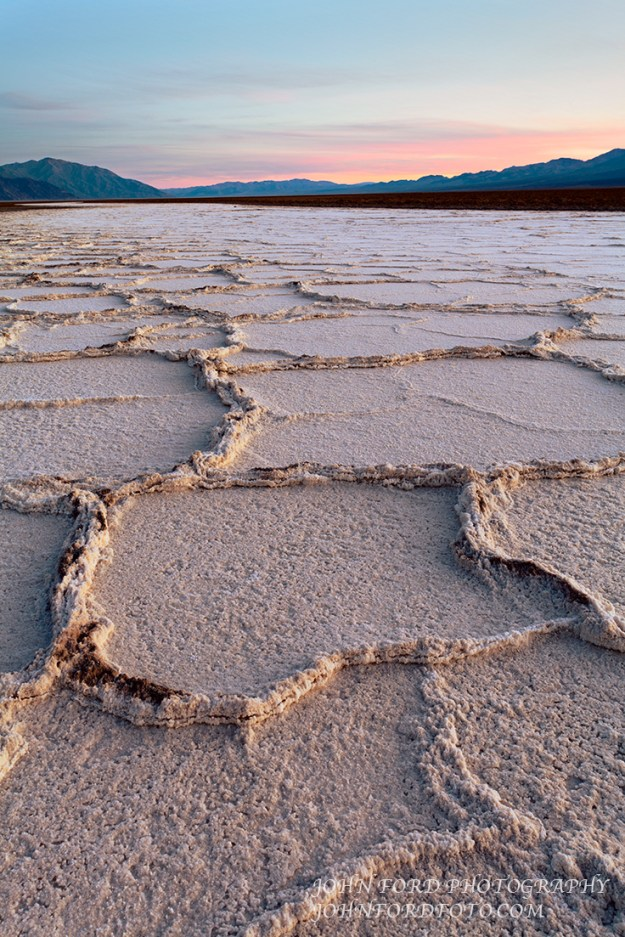 SALT FLAT, DEATH VALLEY