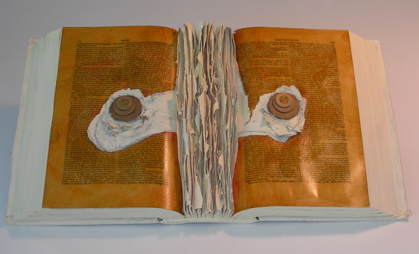 Feverish Text, mixed media 2006. The Chasanoff Collection