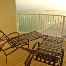 Hotel window view