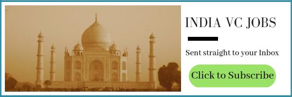 Venture Capital Jobs in India - Venture Capital Jobs Blog