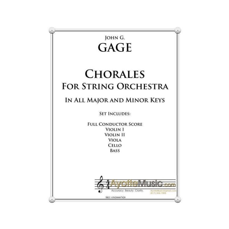 String Chorales in All Major and Minor Keys