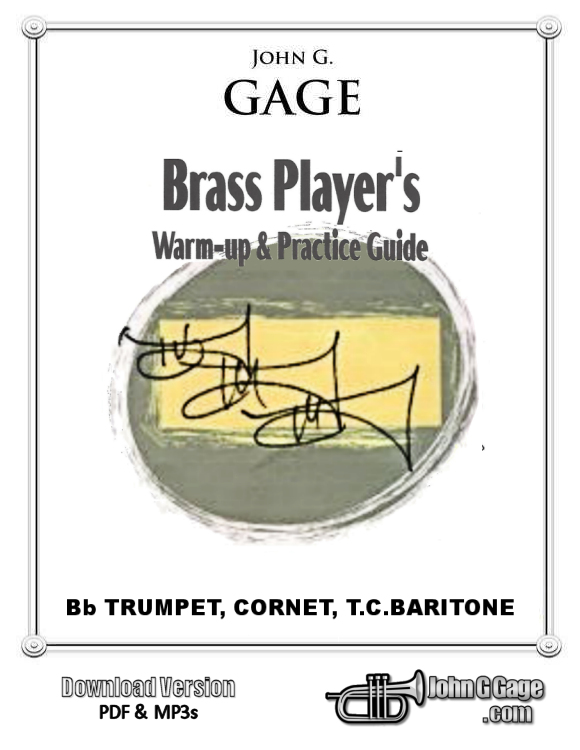 Brass Player's Warm-Up Book for Trumpet, Cornet, TC Baritone