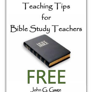 Teaching Tips for Bible Study Teachers