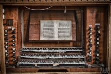 Keyboard and Book