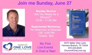 An Afternoon of Miracles @ Church of One Love