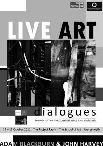 Live Art Poster