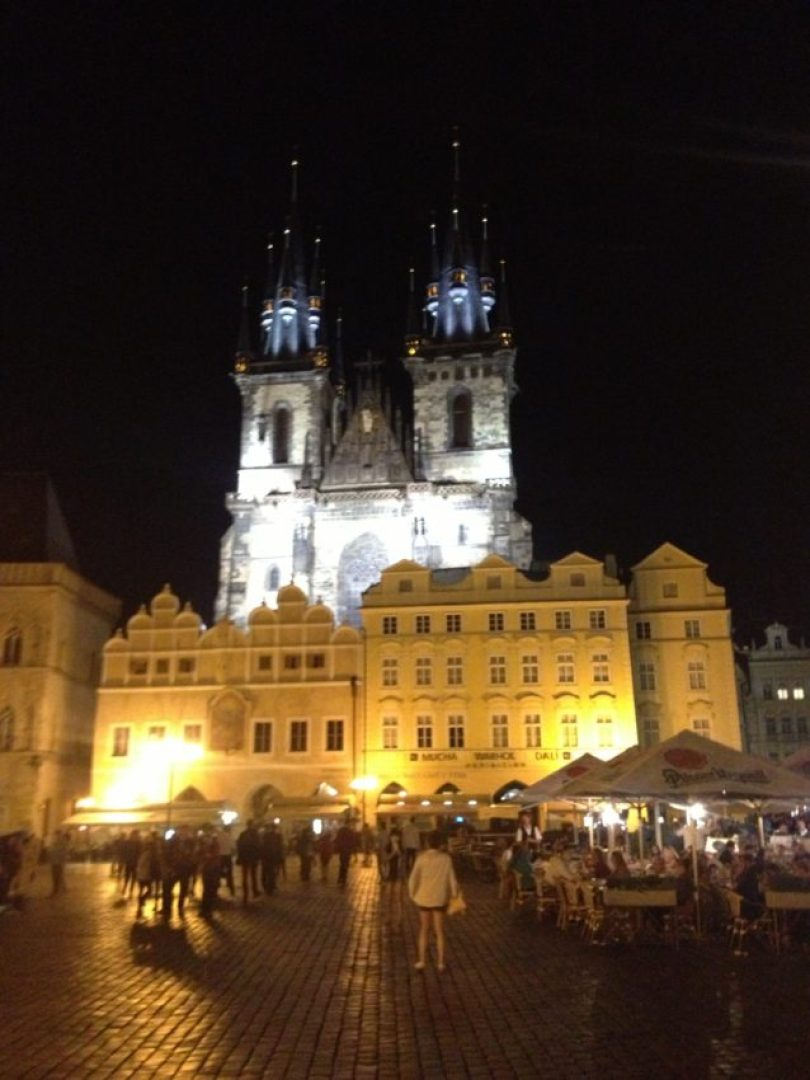 Old Town Square, with 18th century St. Nicholas Church, has measured Prague's pulse since the 10th century.