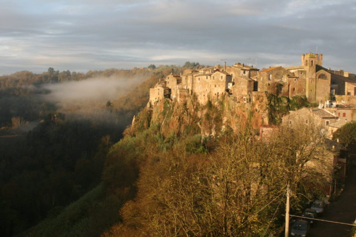 Calcata has only 70 people but artists have been coming here since the 1970s.