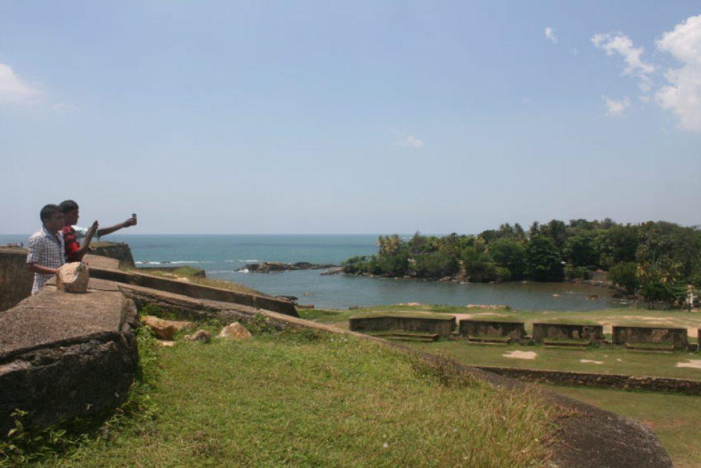 The Fort overlooked Ceylon's busiest harbor.