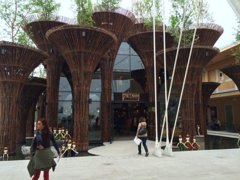 Vietnam's pavilion.