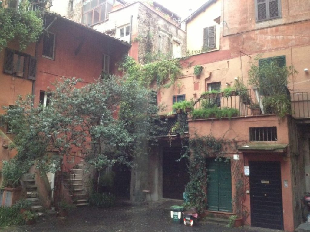 This little square near Campo dei Fiori has not changed much for more than 500 years.