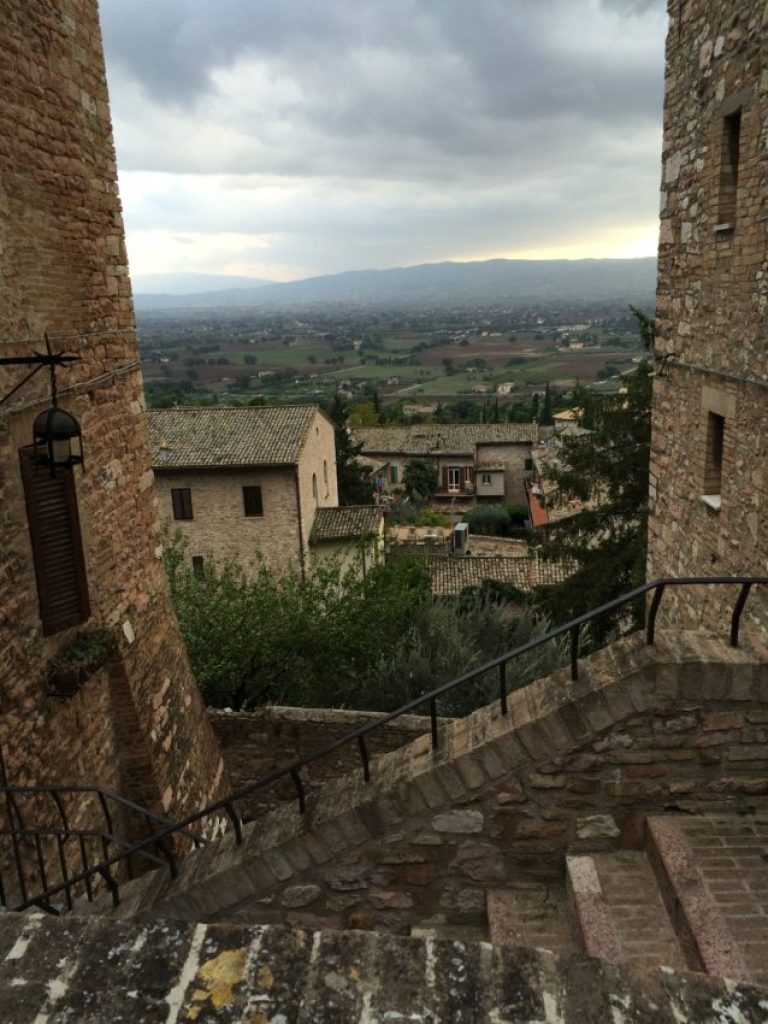 One of the views from residential Assisi.