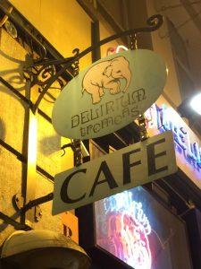Delirium Cafe.